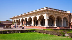 Diwan-i-Am at Agra Fort Stock Photos