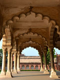 Diwan-i-Am of Agra Fort. Agra Fort, is a monument, a UNESCO World Heritage site located in Agra, Uttar Pradesh, India Stock Images