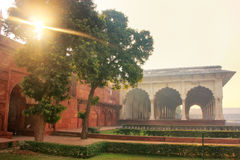 Diwan-i-Am - Hall of Public Audience in Agra Fort, Uttar Pradesh Stock Photo