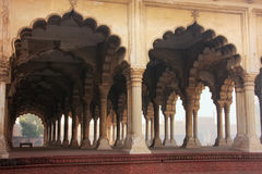 Diwan-i-Am - Hall of Public Audience in Agra Fort, Uttar Pradesh Stock Photography