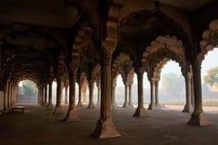 Diwan-i-Am - Hall of Public Audience in Agra Fort, Uttar Pradesh Royalty Free Stock Photo