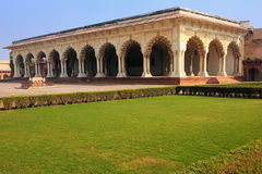 Diwan-i-Am - Hall of Public Audience in Agra Fort, Uttar Pradesh Stock Photography