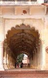 Diwan-i-Am, or Hall of Public Audience, at Agra Red Fort Stock Photography