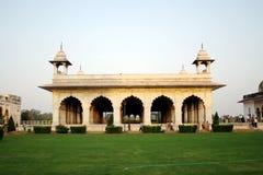 Diwan-I-Khas bij Rood Fort, New Delhi stock foto's