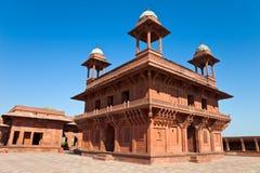 Diwan-i-Khas em Fatehpur Sikri Imagem de Stock Royalty Free