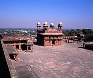 Diwan-i-Khas, Fatehpur Sikir, India. Stock Images