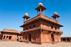 Diwan-i-Khas at Fatehpur Sikri Royalty Free Stock Image