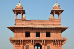 Diwan-i-Khas at Fatehpur Sikri Royalty Free Stock Photo