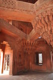 Diwan-i-Khas at Fatehpur Sikri in India Stock Photos