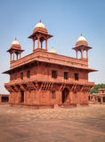 Diwan-i-Khas Hall in Fathepur Sikri - Agra, India Royalty Free Stock Photo