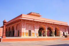 Diwan-i-Khas - Hall of Private Audience in Jaipur City Palace, R Stock Image