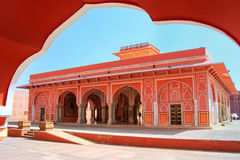 Diwan-i-Khas - Hall of Private Audience in Jaipur City Palace, R Royalty Free Stock Photos