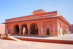 Diwan-i-Khas - Hall of Private Audience in Jaipur City Palace Royalty Free Stock Photos