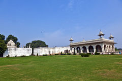 Diwan I Khas at the Lal Qila or Red Fort in Delhi Stock Photo