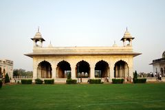 Diwan-i-Khas at Red Fort, New Delhi Stock Photos