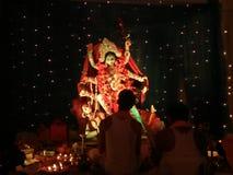 Diwlai节日在孟加拉国 免版税库存照片