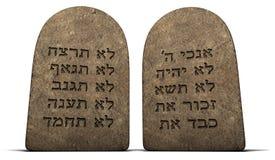 Dix commandements Images libres de droits