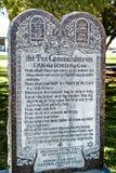 Dix commandements Image libre de droits