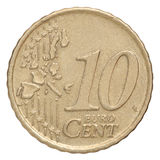 Dix euro cents Photos libres de droits