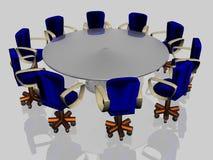 Dix fauteuils Image libre de droits