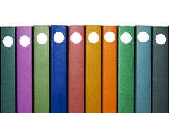 Dix livres Photo libre de droits