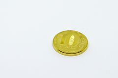 Dix roubles Image libre de droits