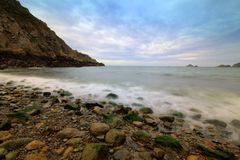 Dixcart Bay in Sark Royalty Free Stock Photography