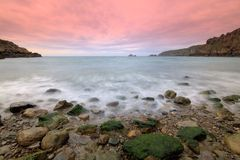 Dixcart Bay in Sark Stock Photography