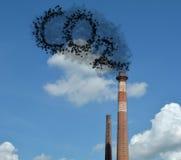 Dióxido de carbono Imágenes de archivo libres de regalías