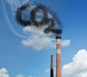 Dióxido de carbono Fotos de archivo