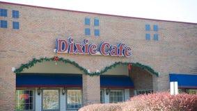 Dixie Cafe, Bartlett Tennessee fotografía de archivo