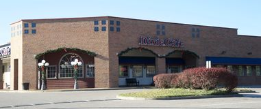 Dixie Cafe, Bartlett Tennessee stockfotos