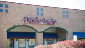 The Dixie Cafe, Bartlett Tennessee Stock Photography