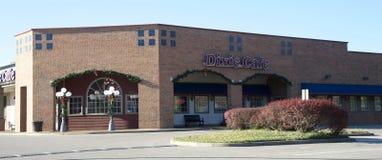 The Dixie Cafe, Bartlett Tennessee Stock Photos
