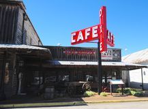 Dixie Cafe at Casey Jones Village, Jackson, Tennessee. Stock Images