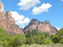 Dixie Forest Rock Mountains stock photo