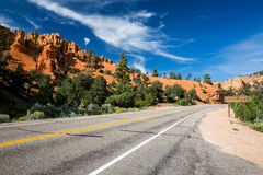 Dixie National Forest. Red Canyon, Utah Stock Image