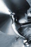 diy不锈钢工具 库存照片