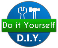 DIY青绿的圈子 库存图片