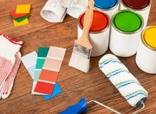 DIY самонаводят remodeling стоковое фото