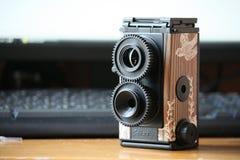 DIY 35mm TLR Carmera ver. Gakken Mook Stock Foto's