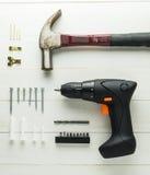DIY autoguident des équipements de décoration intérieure Photos stock