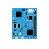 DIY brązu elektroniczna deska z microcontroller Obrazy Royalty Free