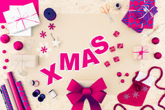 Diy christmas gift idea Stock Photos