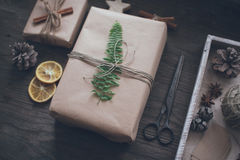 Diy Christmas Stock Photo
