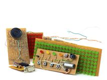 DIY circuits Royalty Free Stock Images