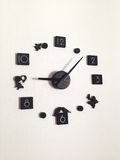 DIY clock. Clock on the wall Royalty Free Stock Images