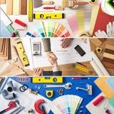 DIY e miglioramento domestico immagini stock libere da diritti