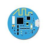 DIY-elektronisches Mini-mcu und -wifi verschalen mit einem Mikroregler Lizenzfreies Stockbild