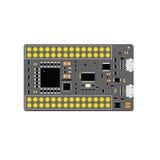 DIY elektronisches usb-Brett mit einem Mikroregler auf ESP10 Stockbilder